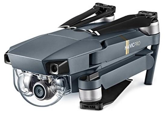 drone DJI Mavic Pro test