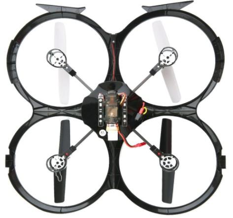 drone UDI U818A test