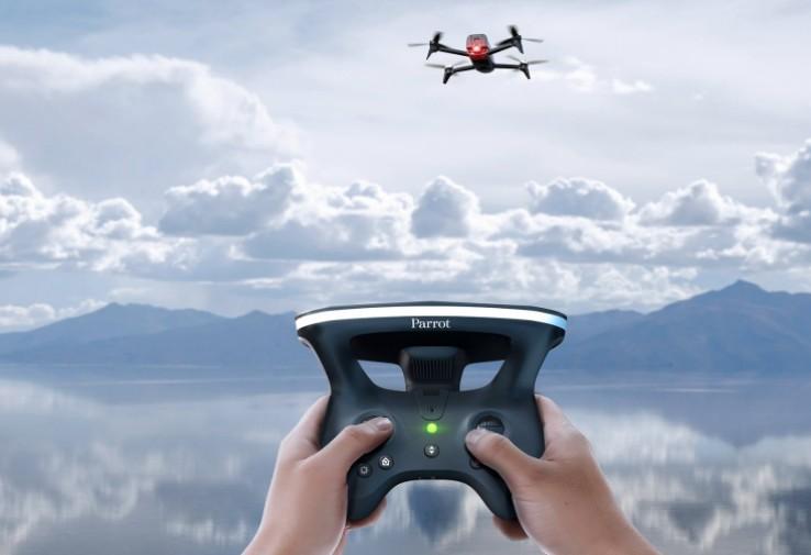 drone Bebop 2 de Parrot test