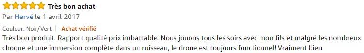 drone Hubsan X4 H107C avis